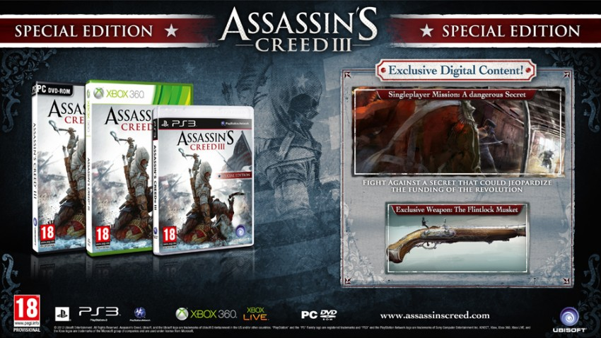 Assassin's Creed 3 Special Edition Tanıtım Fragmanı