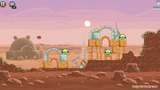 Angry Birds Star Wars'un İlk Oyun İçi Reklam Videosu