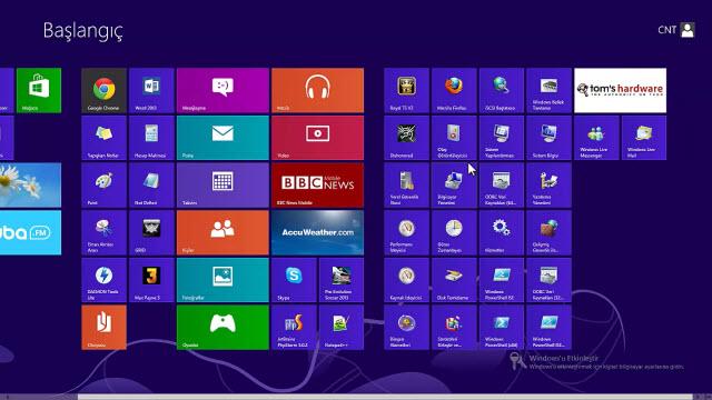 Windows 8 Açılışta Hesap Parolası Kaldırma