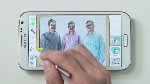 Samsung Galaxy Note 2 İfade Araçları