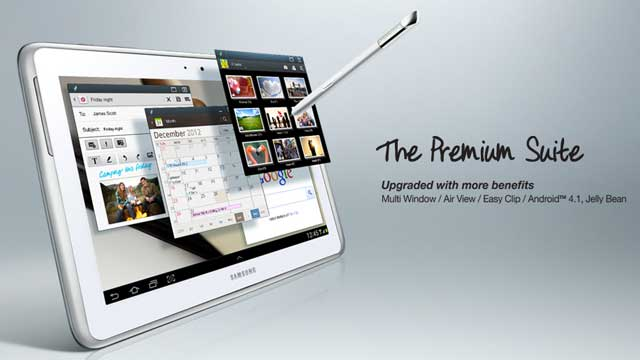 Samsung Galaxy Note 10.1 İçin Premium Suite Tanıtımı