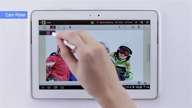 GALAXY Note 10.1 ile Gelişmiş S Pen Deneyimi