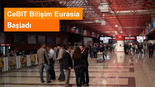 CeBIT Bilişim Eurasia 2012 Başladı