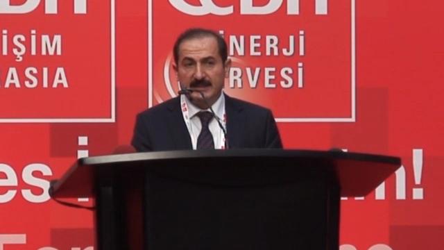 Türk Telekom A.Ş. Genel Müdür Yardımcısı Şükrü Kutlu Bilişimin Önemini Vurguladı - CeBIT Bilişim Eurasia