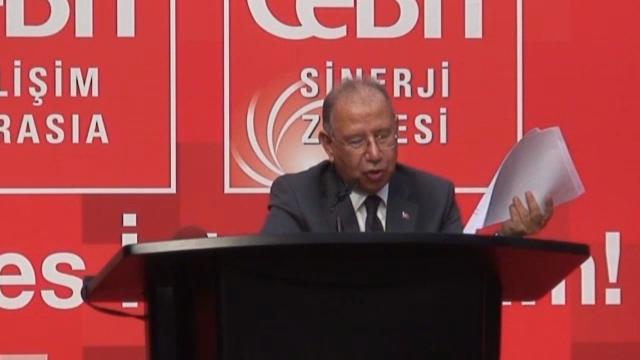 Bilgi Teknolojileri ve İletişim Kurumu Başkanı Tayfun Acarer Bilişim Üzerine Konuştu - CeBIT Bilişim Eurasia