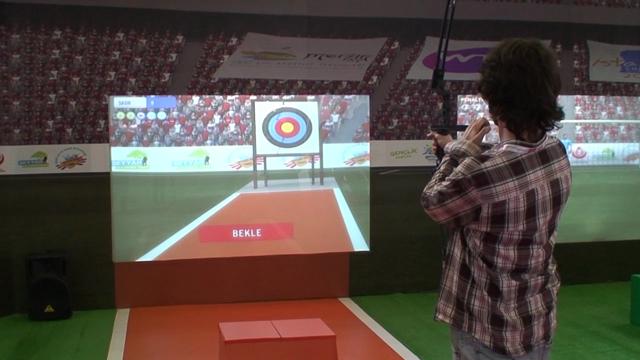 Gençlik ve Spor Bakanlığı Spor Simulasyonlarını Tanıttı - CeBIT Bilişim Eurasia