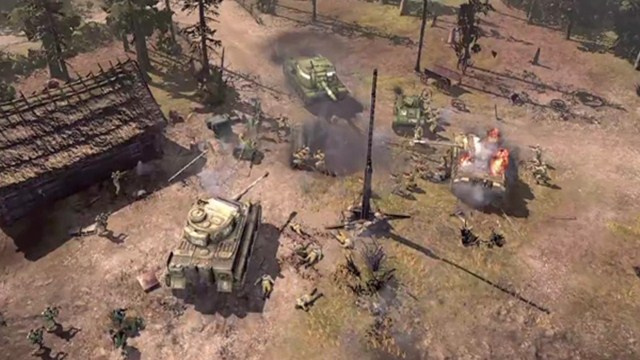 Company of Heroes 2 Oyun İçi Tanıtım Videosu