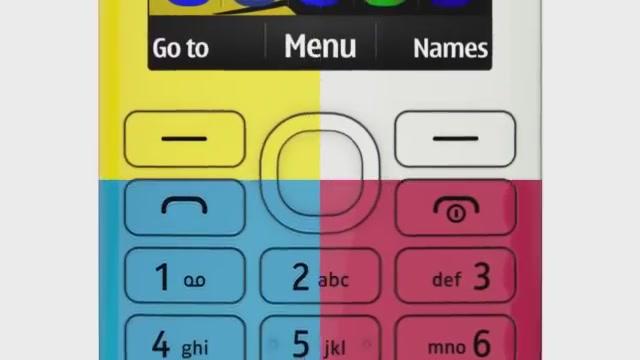 Nokia 206 Tanıtımı