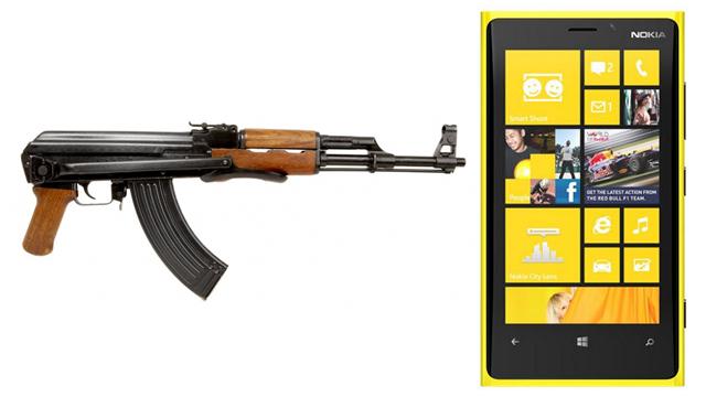 Nokia Lumia 920 AK47'ye Karşı