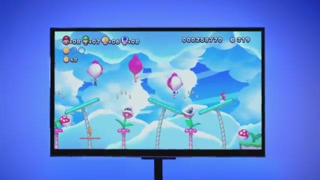 Yeni Super Mario Bros U Tanıtım Filmi