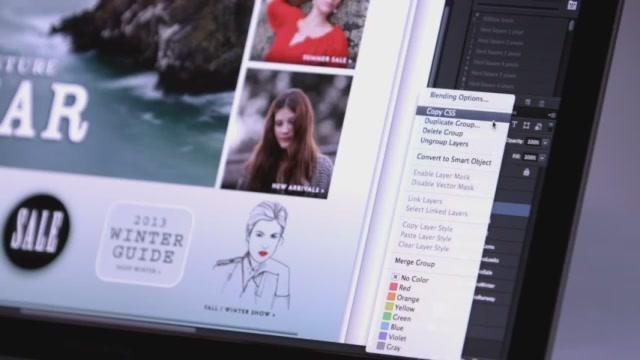 Adobe Photoshop 6 Creative Cloud Güncellemesi İle CSS Destekliyor