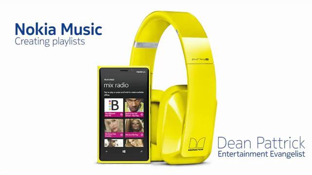 Nokia Music İle Müzik Listesi Yaratmak