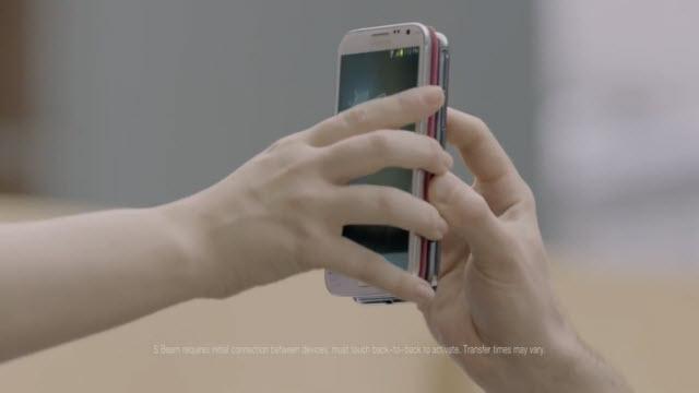 Samsung Galaxy Note 2 Ofiste Reklamı