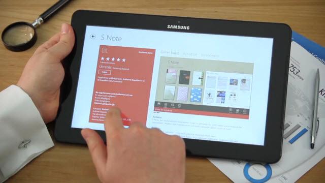 Samsung ATIV Smart PC Profesyonel Eller Tanıtım Videosu