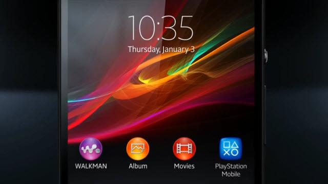 Sony Xperia Z Tanıtım Videosu