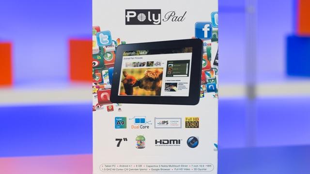 PolyPad 7408 IPS Kutu Açılışı Videosu