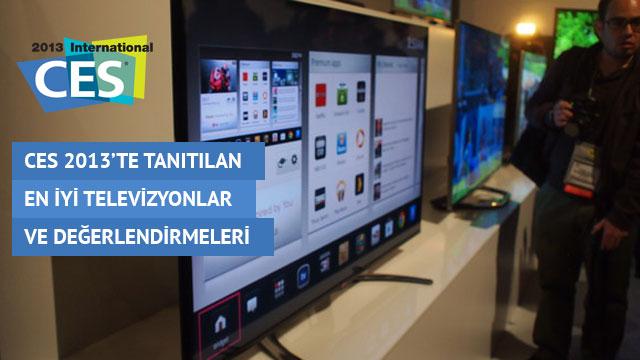 CES 2013'te Tanıtılan En İyi Televizyonlar ve Değerlendirmeleri