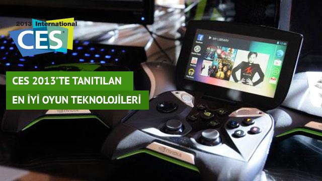 CES 2013'te Tanıtılan En İyi Oyun Teknolojileri