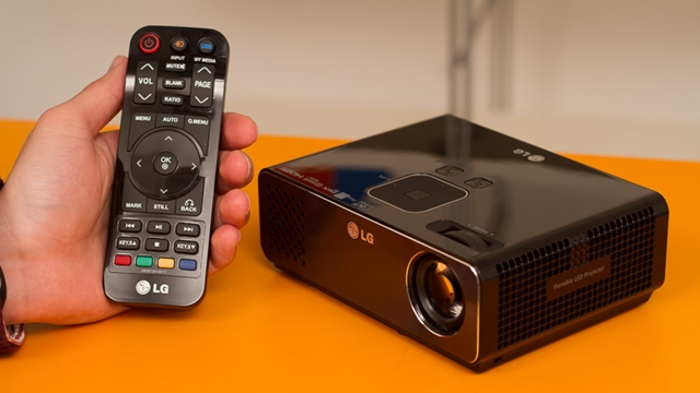 LG HW300G Taşınabilir LED Projektör İnceleme Videosu