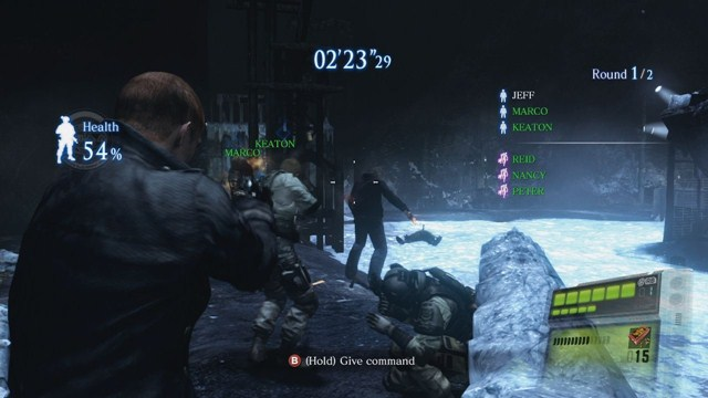Resident Evil 6 - Siege Modu DLC Oynanış Videosu