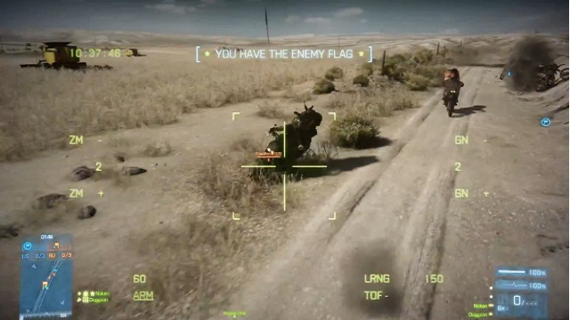 Battlefield 3 End Game - Capture The Flag Videosu