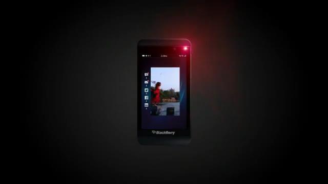 BlackBerry Z10'un Yeni Akıcı Menü Tasarımı