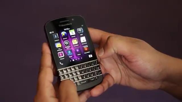 BlackBerry Q10 Klavye Özelliği