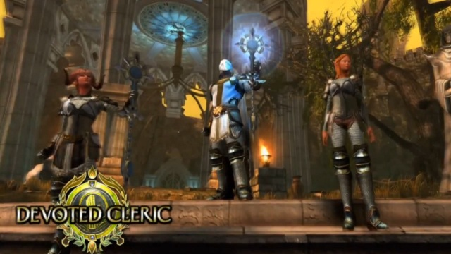 Neverwinter MMO Cleric Tanıtım Videosu