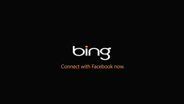 Bing Sunar: Facebook'a Bing ile Bağlanın