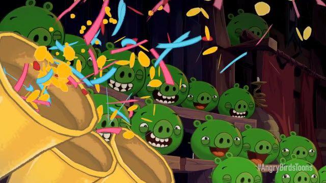 Angry Birds Çizgi Film Tanıtım Videosu
