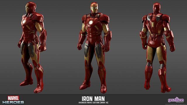 Marvel Heroes Iron Man ve Kostümleri Tanıtım Videosu