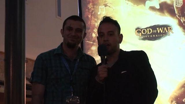 God of War Ascension İzmir Lansmanı - Canlı Oyun Tanıtım Öncesi - Sony Playstation İzmir Sorumlusu Onur Bağcı Röportajı