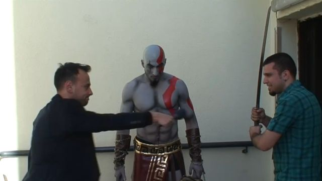 God of War Ascension İzmir Lansmanı - Kratos Röportajı