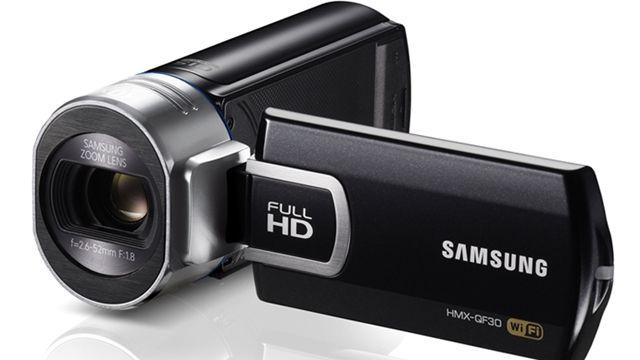 Samsung Smart Camcorder QF30 Tanıtım Videosu
