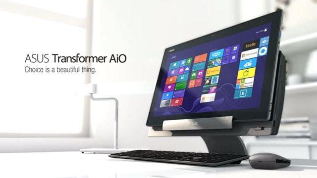 ASUS Transformer AiO P1801 Tanıtım Videosu