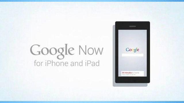 iPhone ve iPad için Google Now