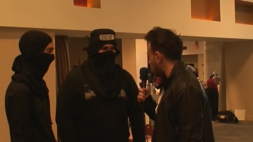 İzmirCon 2013 - Konoha Ninjaları Röportajı