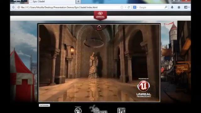 Unreal Engine 3 Artık İnternet Gezginlerinde de Çalışacak