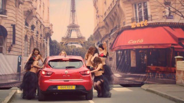 Erkekler için Renault Clio Test Sürüşü