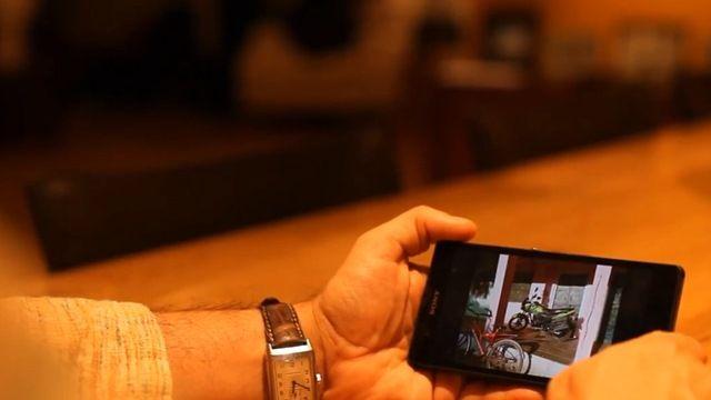 Yönetmen Tarsem Singh'lı Xperia Z Tanıtım Videosu