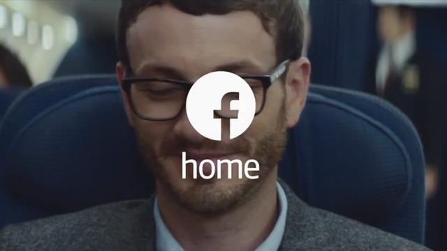 Facebook Home Yeni Reklam Filmi