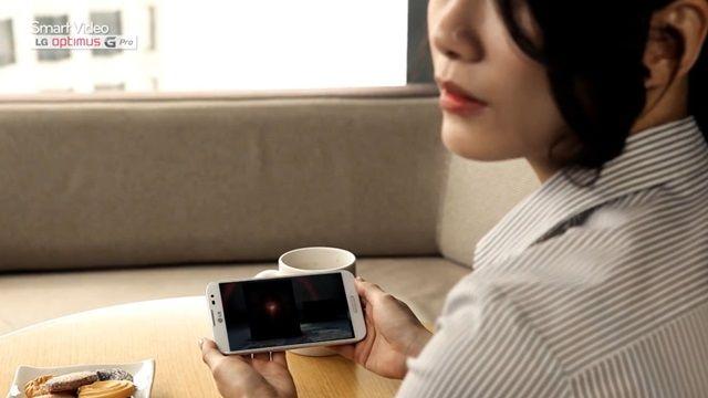 LG Optimus G Pro - Video Oynatma ve Kamera Teknolojileri