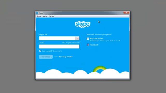 MSN Hesabınızla Skype Açma Nasıl Yapılır?