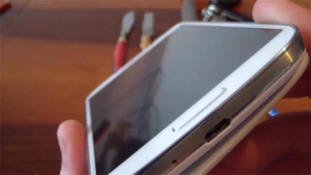 Samsung Galaxy S4 Ekran Çizilmezlik Testi