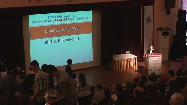 6. Manisa Web Tasarımı Yarışması Ödül Töreni