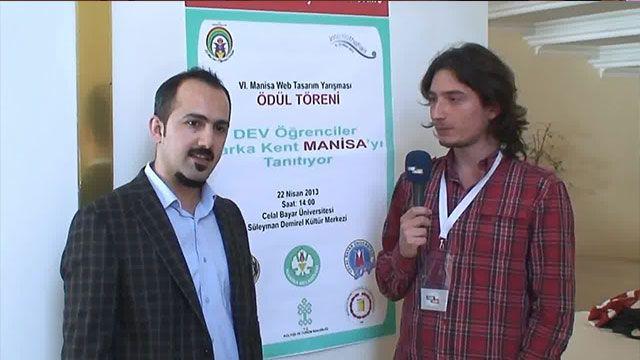 6. Manisa Web Tasarımı Yarışması - Şener KUL Röportajı