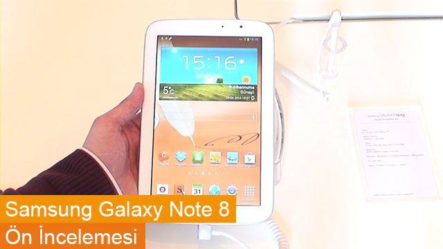 Samsung Galaxy Note 8 Ön İncelemesi