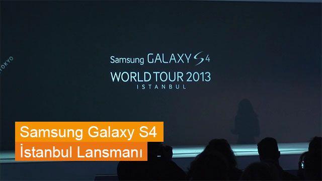 Samsung Galaxy S4 ve Galaxy Note 8 Türkiye Lansmanı