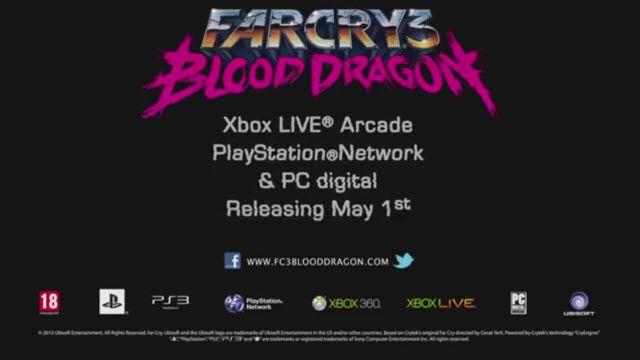 Far Cry 3 Blood Dragon Yeni Oynanış Videosu
