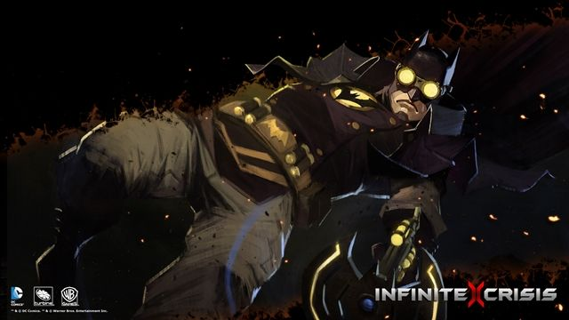 Infinite Crisis-Gaslight Batman Oynanış Videosu